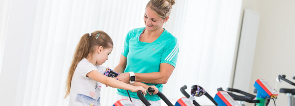 OptimaMed Wildbad Kinderreha Ergometer