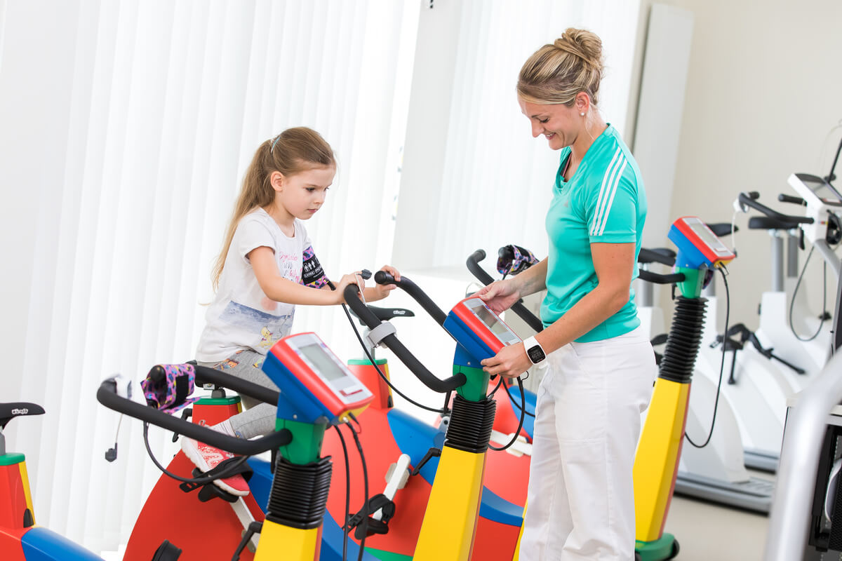 OptimaMed Wildbad Kinderreha Ergometertherapie