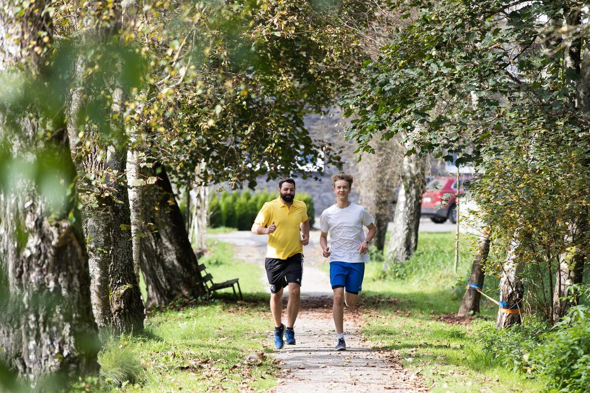 OptimaMed Wildbad Kinderreha Jogging
