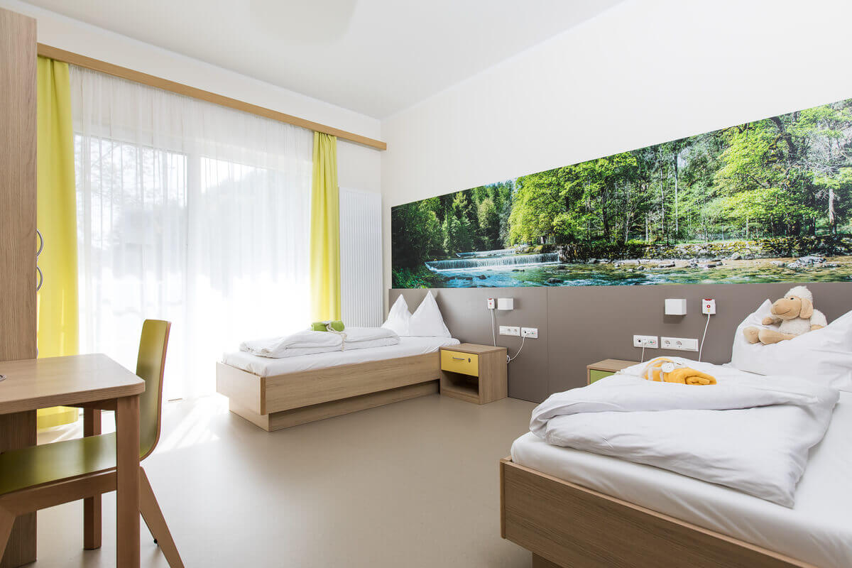 OptimaMed Wildbad Kinderreha Zimmeransicht