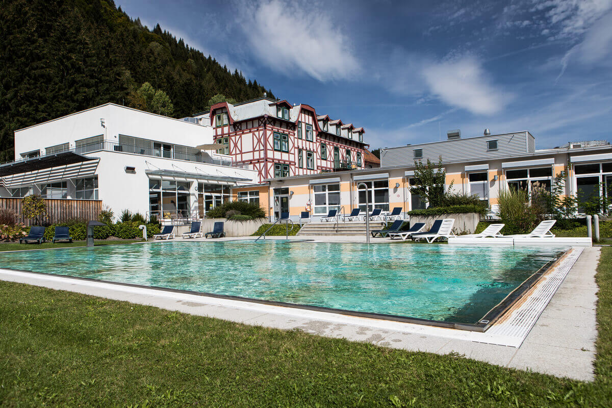 OptimaMed Wildbad Kinderreha Außenbecken
