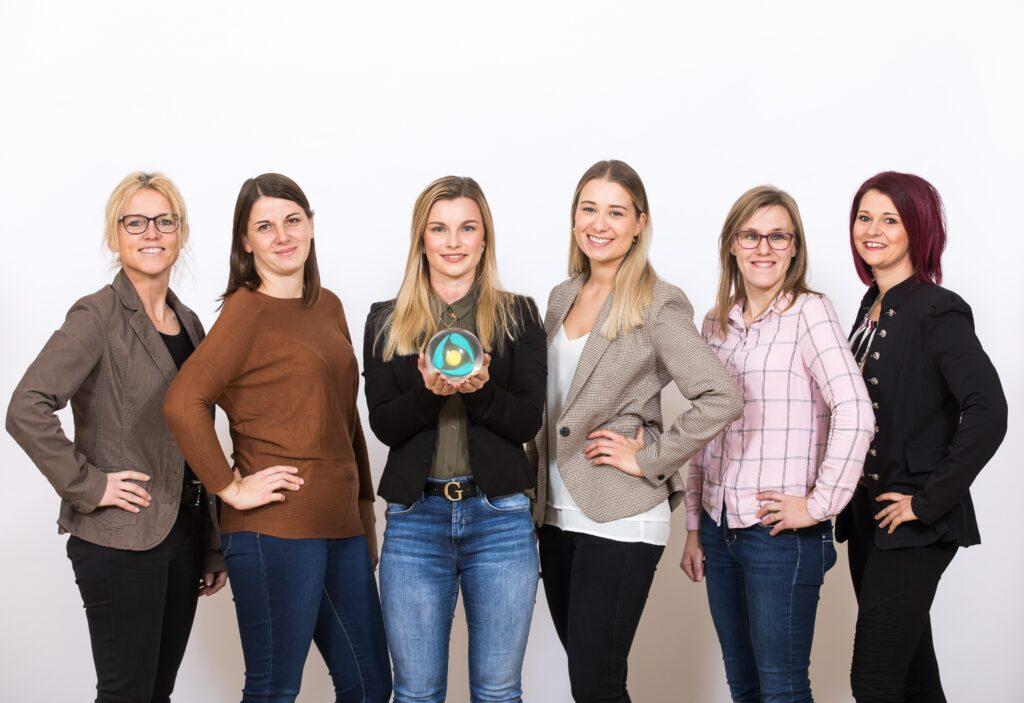 Team der medizinischen Verwaltung